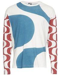 Isabel Marant T-shirt manches longues Leiloh - Bleu