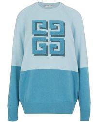 Givenchy - Sweat à logo bicolore - Lyst