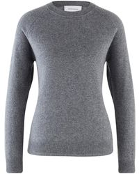 Alexandra Golovanoff Maxi Mila Cashmere Sweater - Grey