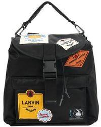 Lanvin Patch Bag - Black