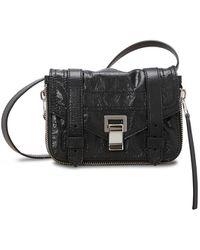 Proenza Schouler Ps1+ Mini Crossbody Bag - Black