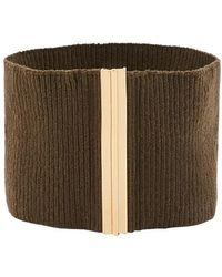 Marni Fabric Belt - Green