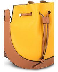 Loewe Kleine Tasche Horseshoe - Gelb