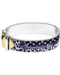 Louis Vuitton Monogram Confidential Bracelet - Blue