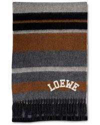 Loewe Wool Scarf - Multicolor