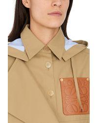 Loewe Military Hooded Parka - Natural