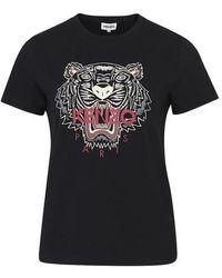 KENZO T-shirt Tiger - Black