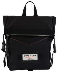 Givenchy Logo Backpack - Black