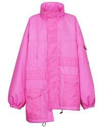 Balenciaga Pulled Parka - Pink