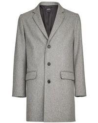 A.P.C. Visconti Coat - Grey