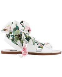 Dolce & Gabbana Printed Sandals - Multicolour
