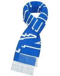 Louis Vuitton Louis City Scarf - Blue