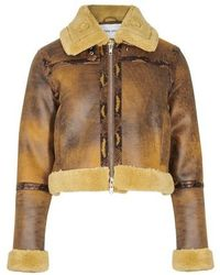 STAND Lorelle Coat - Brown