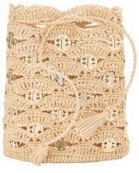 Paco Rabanne Rabanne Bucket Bag - Natural