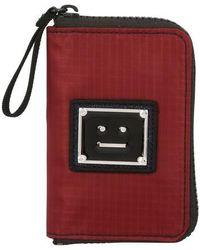 Acne Studios Brieftasche - Rot