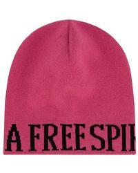 Alberta Ferretti Beanie - Pink
