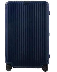 RIMOWA Essential Check-in L luggage - Blue