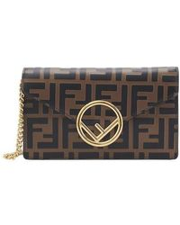 Fendi Ff Belt Pouch Bag - Multicolor