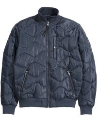 H&M Green Quilted Jacket - Lyst