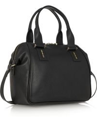 McQ by Alexander McQueen The Yt Texturedleather Tote - Lyst