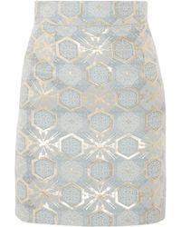 Teatum Jones - Ivy Jacquard Mini Skirt - Lyst