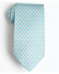 Ferragamo Acqua and White Teddy Bear Printed Silk Tie - Lyst