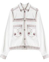 Etoile Isabel Marant Denim Jacket - Lyst