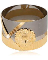 Anthony Vaccarello X Versus Versace Metal Lion Bracelet - Lyst