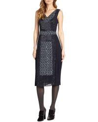 Tory Burch Blue Ivy Dress - Lyst