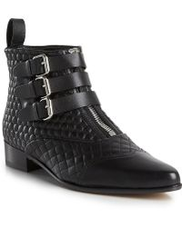 Tabitha Simmons Early Ankle Boot - Lyst