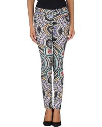 Paige Casual Trouser - Lyst