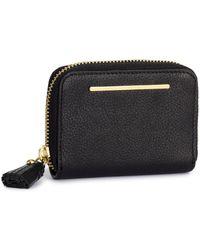 H&M Small Leather Purse - Black