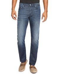 Hugo Boss Maine  Regular Fit 6 Oz Straight Leg Cotton Stretch Jeans - Lyst