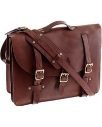 J.Crew - Montague Leather Satchel - Lyst