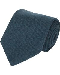 Petronius - Plain-Weave Neck Tie - Lyst