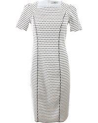 Nina Ricci Dot Pencil Dress - Lyst
