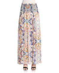 Rebecca Minkoff Delilah Maxi Skirt - Multicolor