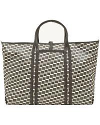 Pierre Hardy Black Canvas Cube Bag - Lyst