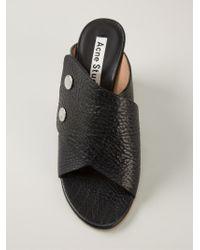 Acne Studios 'Mara' Sandals - Black