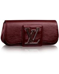 Louis Vuitton Sobe Clutch - Lyst