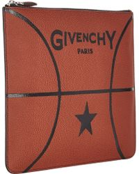 Givenchy Basketball Large Zip Pouch - Lyst