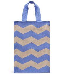 Hansel From Basel - 'zig Zag' Acrylic Knit Shoulder Bag - Lyst