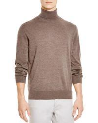 Bloomingdale's Turtleneck Sweater - Brown