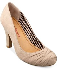 Pink And Pepper Canton Pumps - Natural