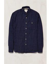 Koto - Plaid Spacedye Button-down Shirt - Lyst