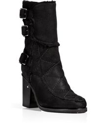 Laurence Dacade Shearling Lined Ankle Boots - Lyst