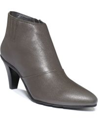 Kenneth Cole Reaction Hill N Spill Booties - Gray