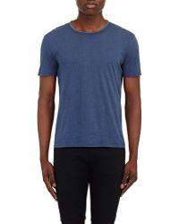 John Varvatos Lightweight T-Shirt blue - Lyst