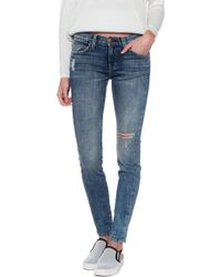 Current/Elliott The Ankle Skinny Jean - Lyst