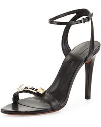 Proenza Schouler Ps1 Leather Ankle-strap Sandal - Lyst